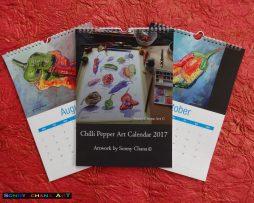 Chilli Product Calendar